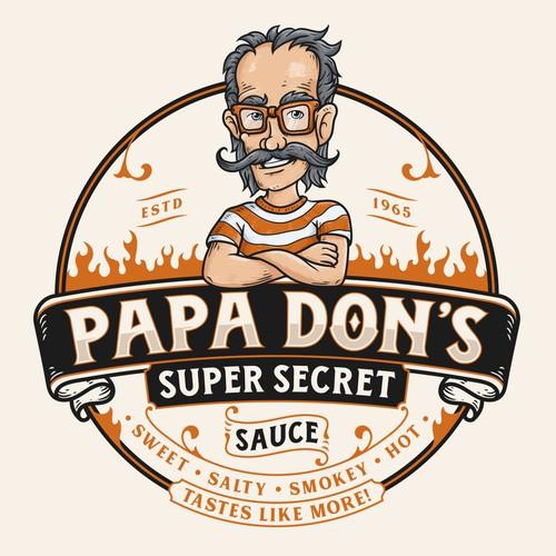 PAPA DON'S- SUPER SECRET SAUCE