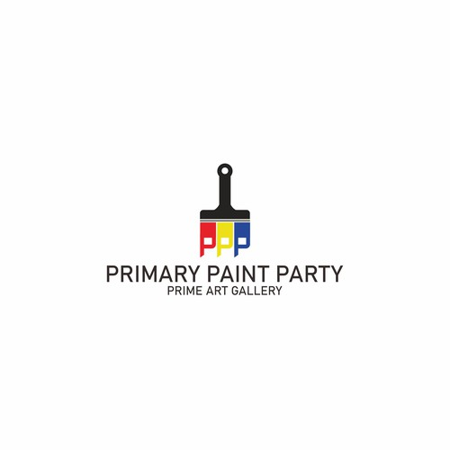 Primary Paint Party Logo