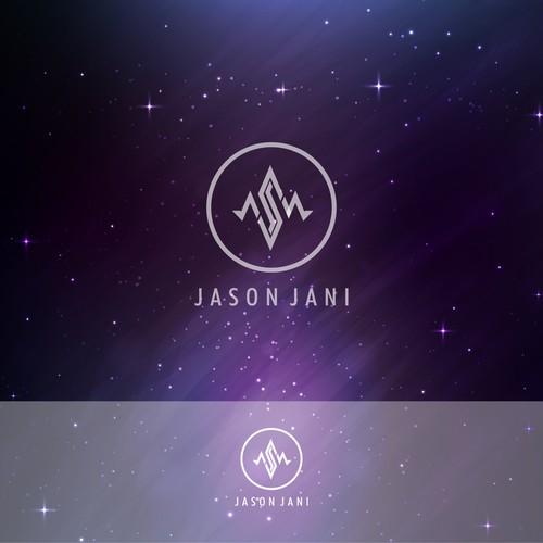 Jason Jani music dj logo concept