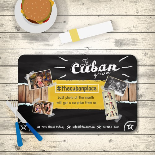 The Cuban Place Placemat