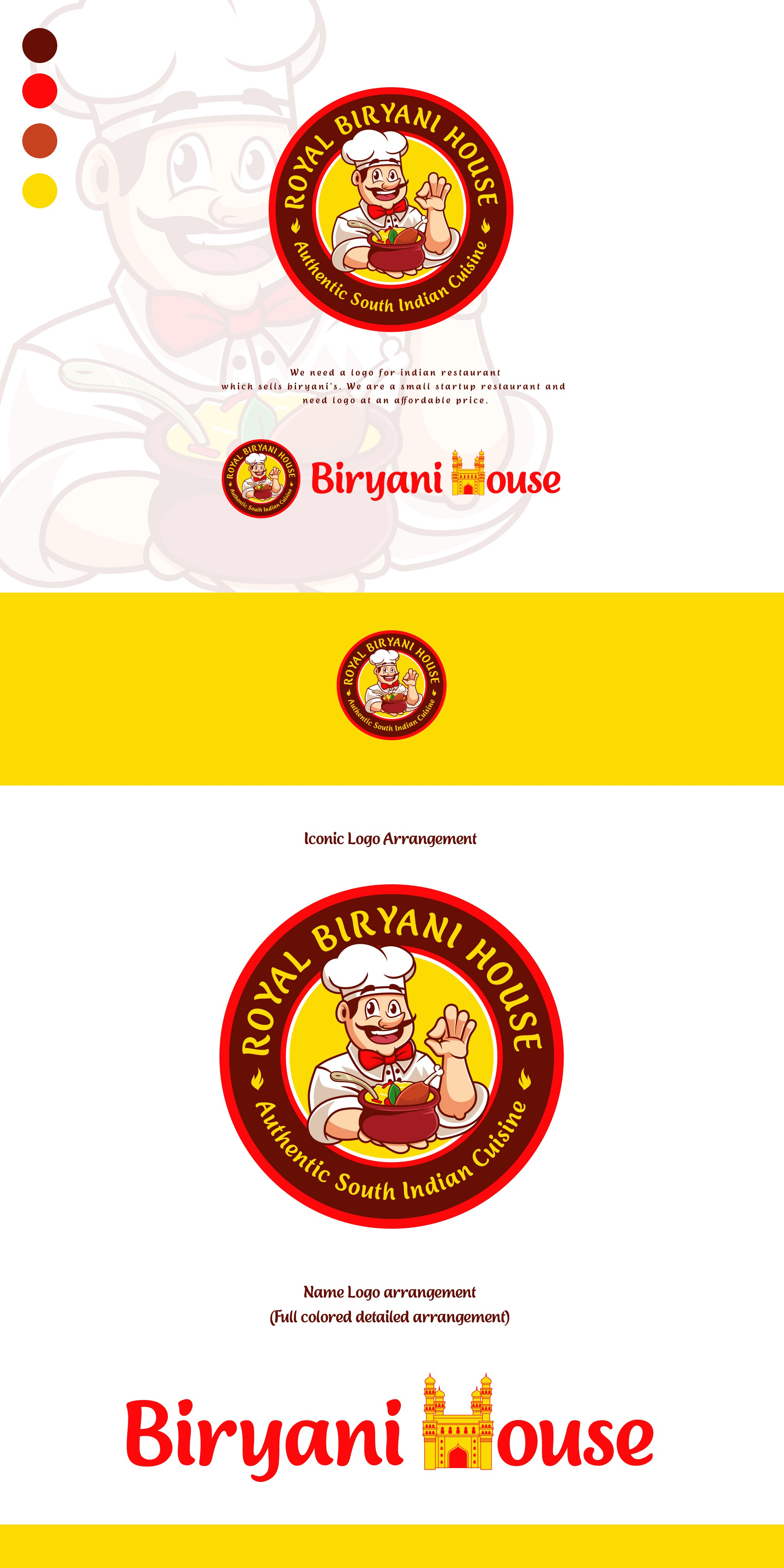 logo design for an indian restaurant
