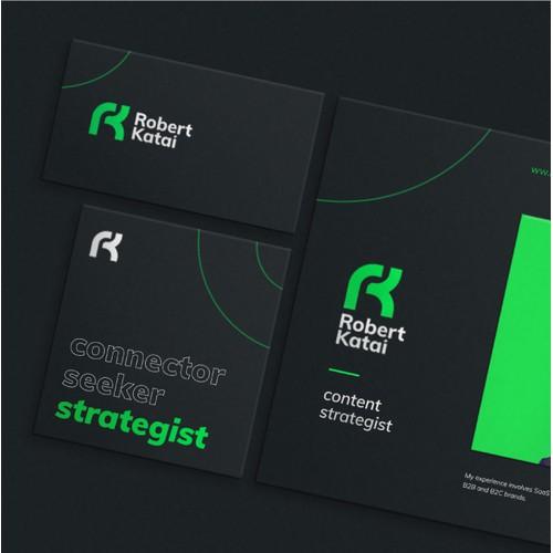 Robert Katai - visual identity
