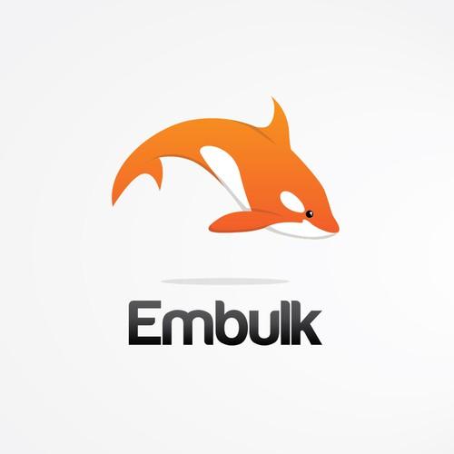 "logo for new open-source software ""Embulk"""