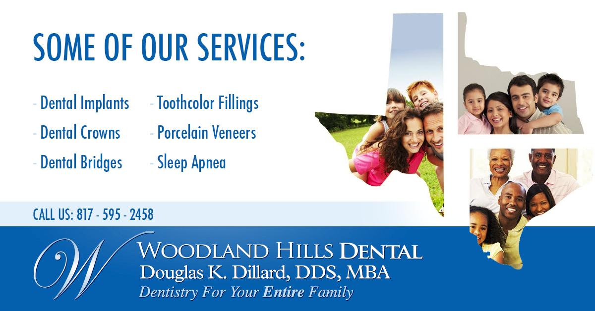 Facebook ads for Dr. Dillard