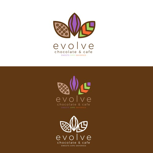 Logo For chocolate & cafe
