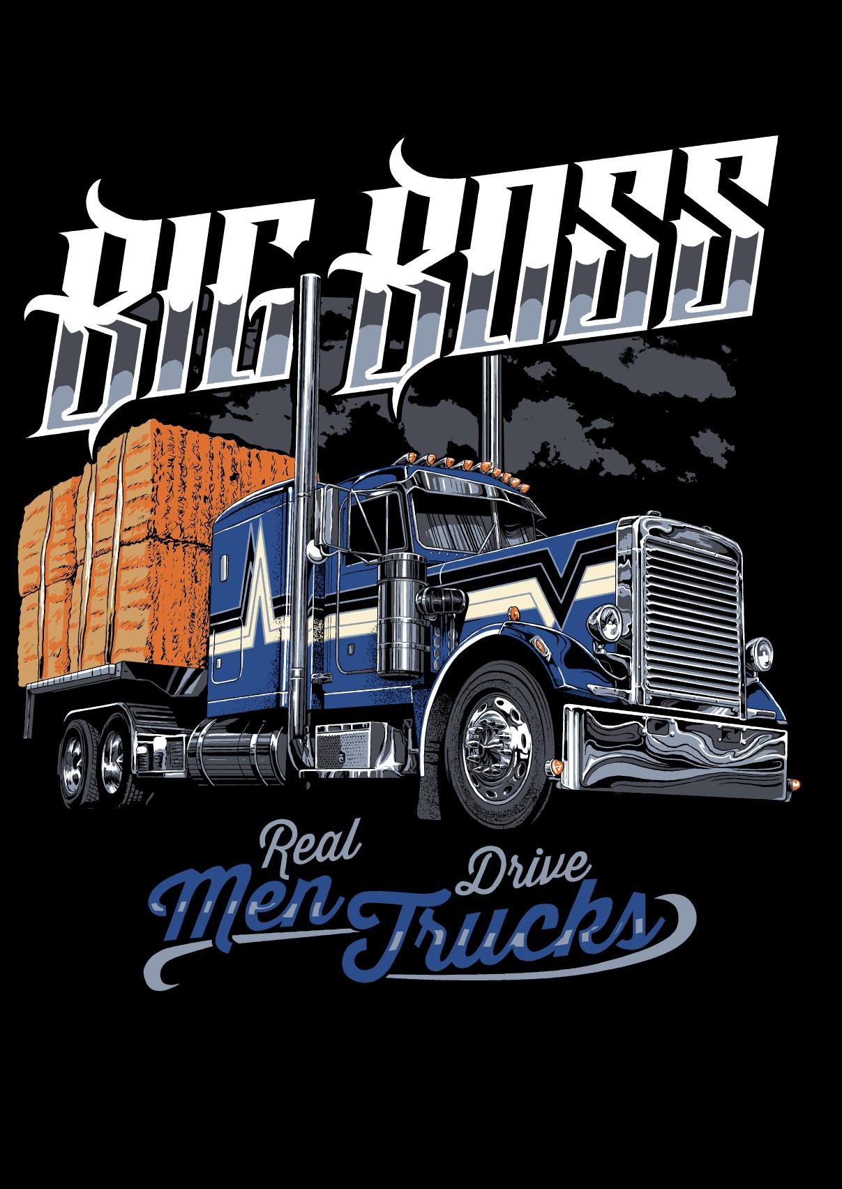 Big Boss T-Shirt Design
