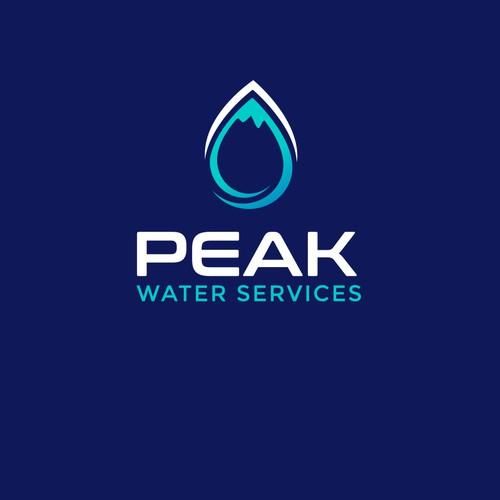 Logo for Peak water service