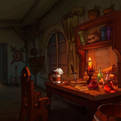 Background for game website