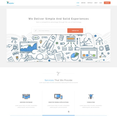 Software engineer website
