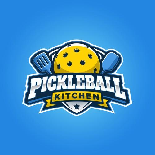 Sports Logo for Pickleball Kitchen