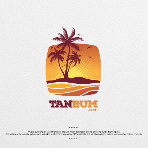 Logo design for TanBum dot com