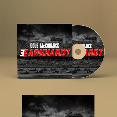 "Doug Mc Cormick ""Earnhardt"" CD Cover"