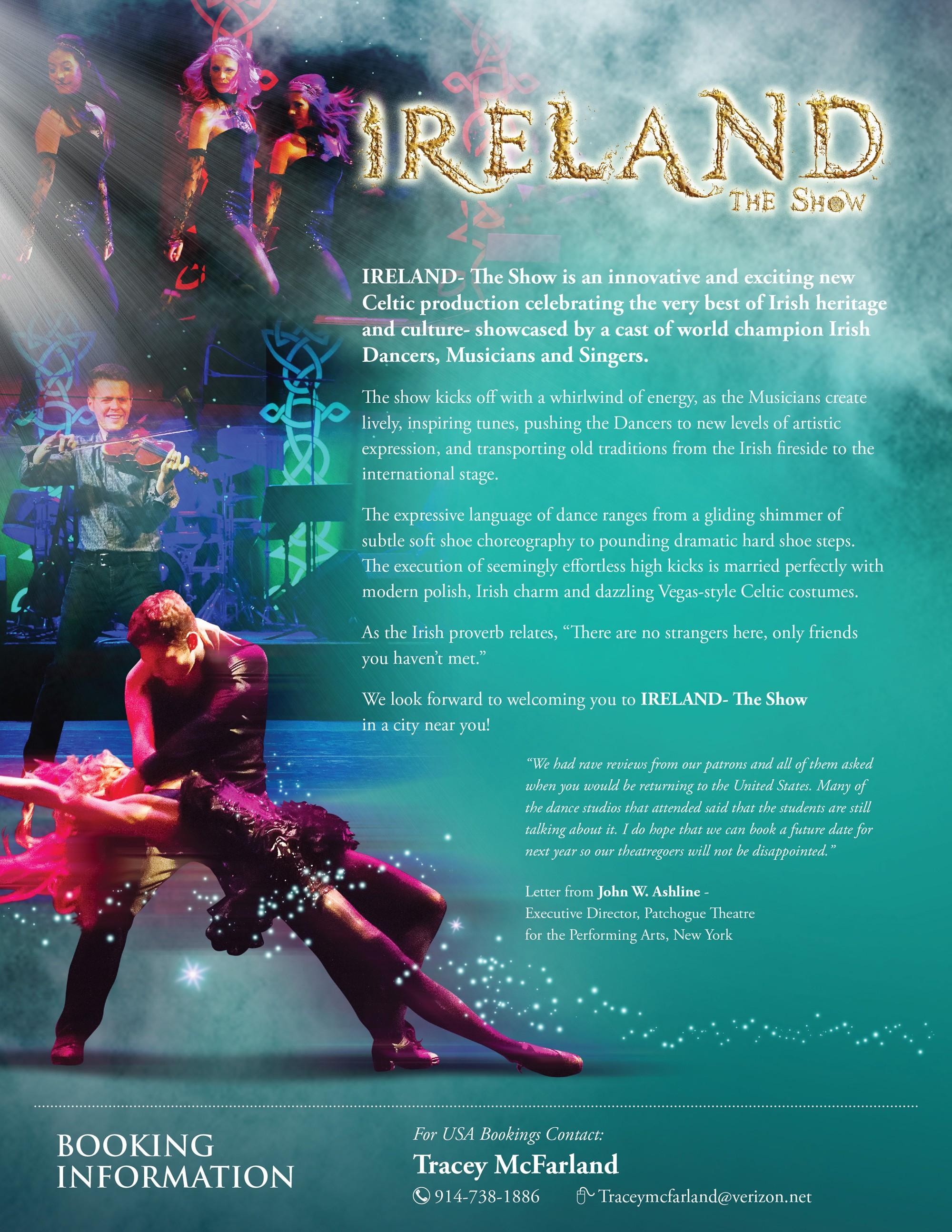 IRELAND- THE SHOW!