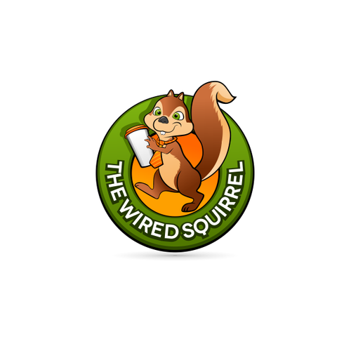 Help The Wired Squirrel with a new logo
