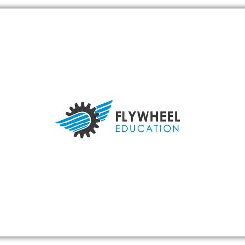 Create a clean logo for Flywheel Education