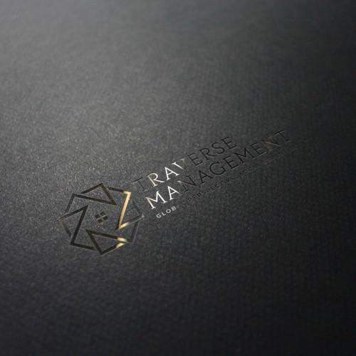 logo concept for Traverse Management