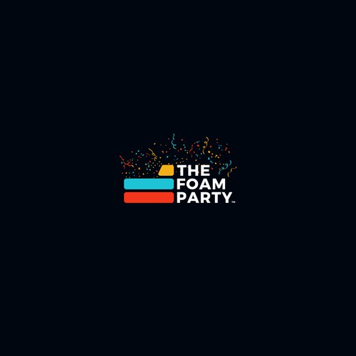 Winning Logo Concept for The Foam Party