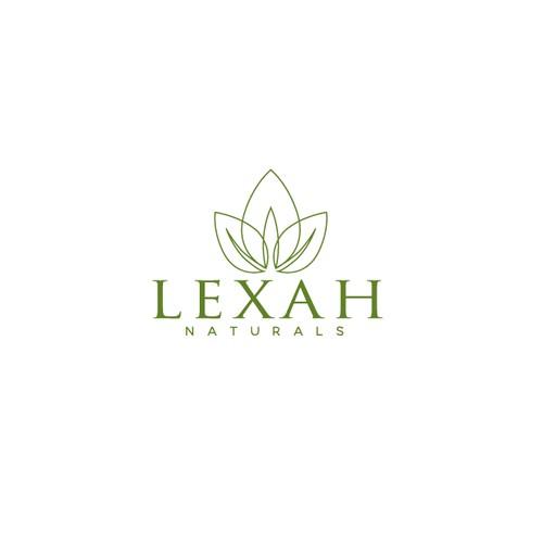 Logo for lexah naturals