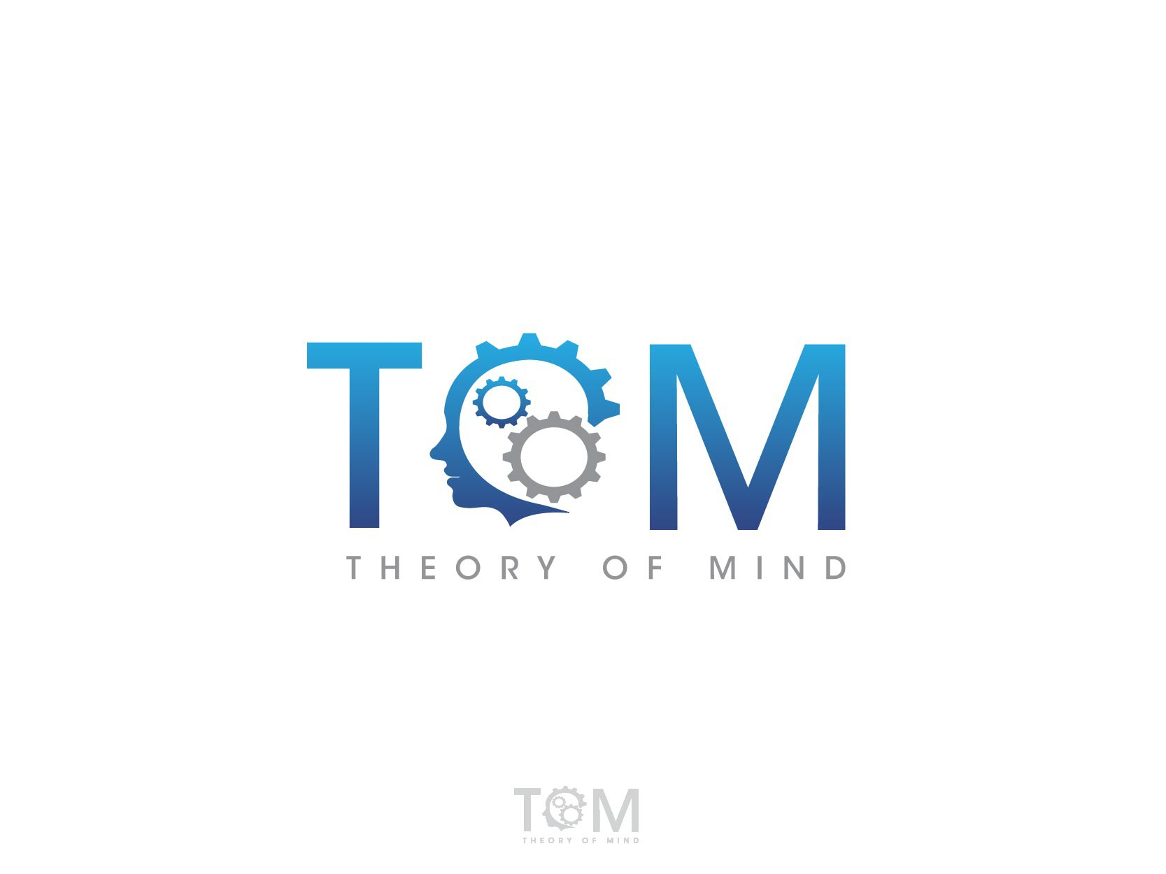 New logo and business card wanted for Theory of Mind is company name, ToM is our abbreviation