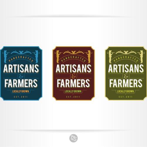 Artisans&Farmers a community based service needs an inspiring logo!