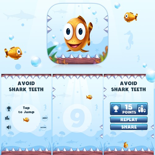 Replace/reskin graphics for a simple iOS game