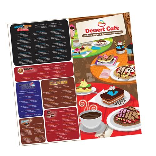 Dessert Cafe Menu