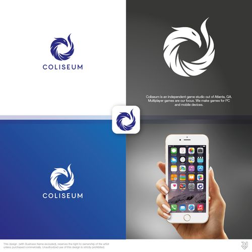 Coliseum Game Studio Logo