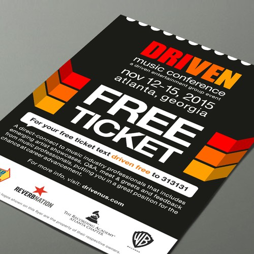 Free Ticket for Music Conference