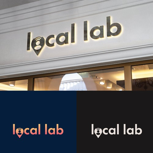 Logo concept for Local Lab