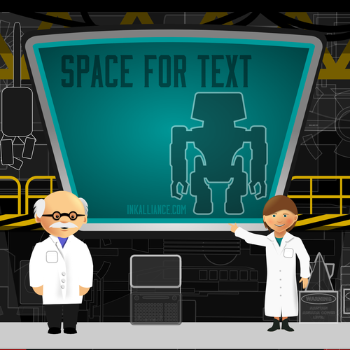 Background for an educational app