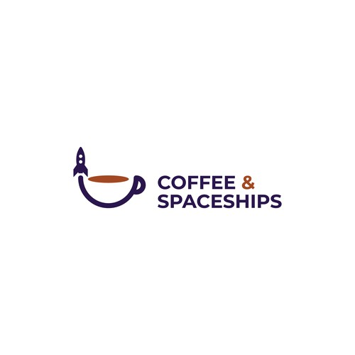Logo design for Coffee & Spaceships