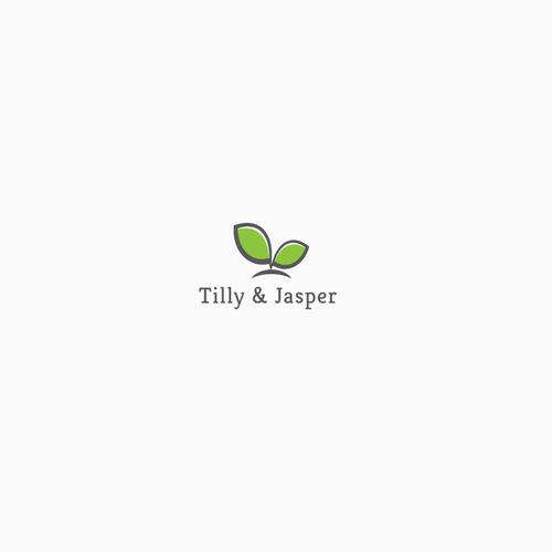 Stylish eco-friendly logo