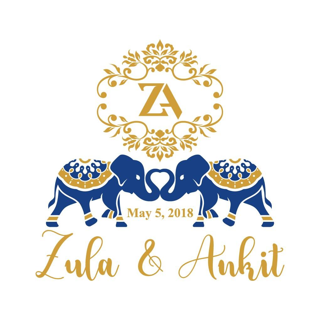 Unique couple needs Wedding Logo