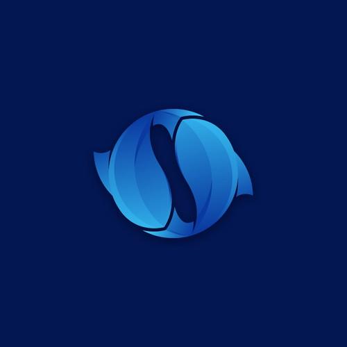 Fishing app logo design
