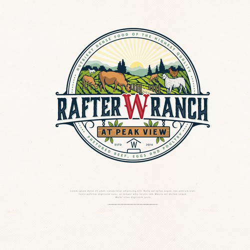 Logo for Rafter W Ranch