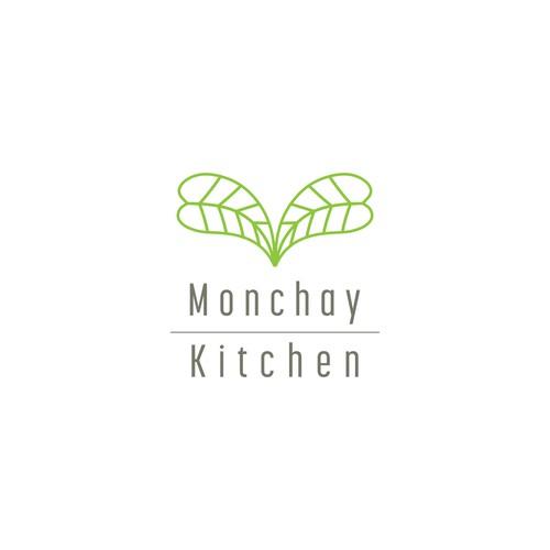 Modern & simple logo design for a vegan pop-up eatery
