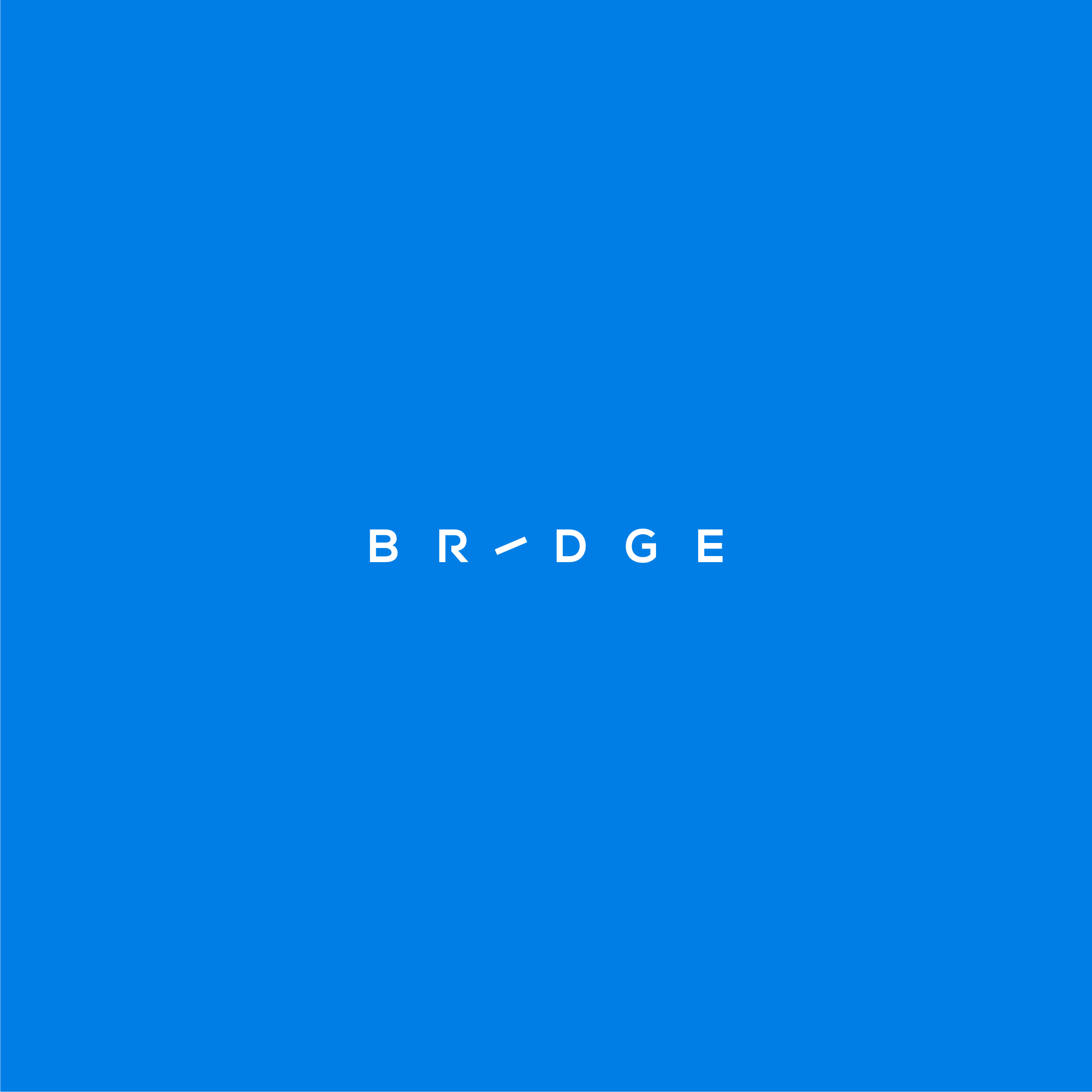 Bridge: Simple, Distinct, Flat, Logo For Cloud Storage Collaboration Startup