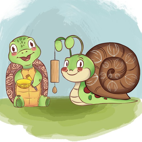 Turtle & Snail : Music and Friendship