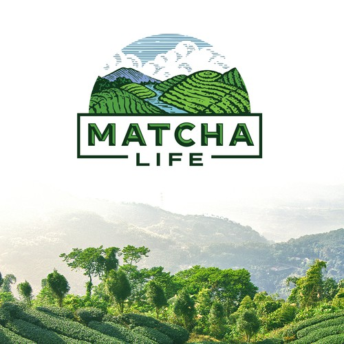 Branding for Matcha company