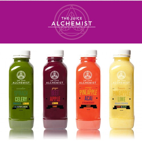Pressed juice logo