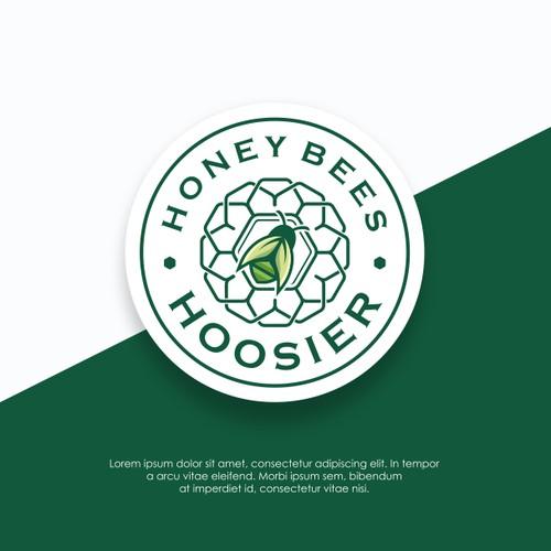 Logo concept for Honey Bees