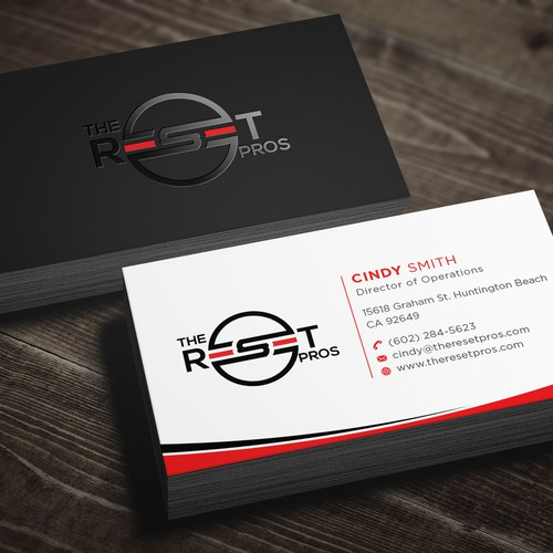 Business Card for The Reset Pros