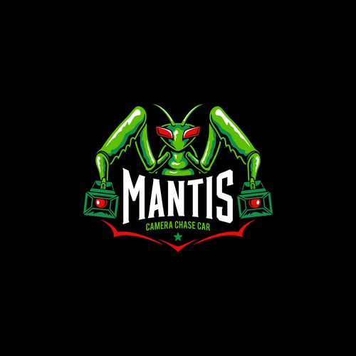 Illustration logo concept for MANTIS