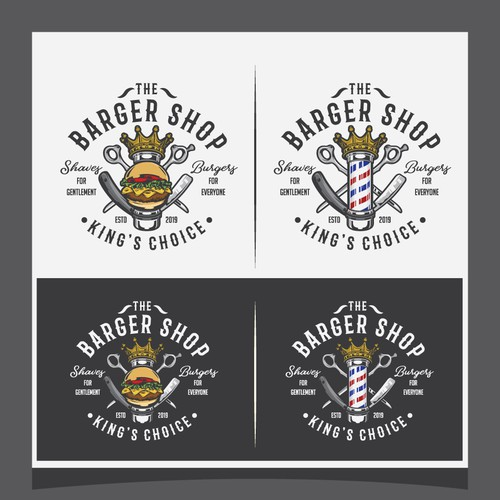 the Bargershop logo design