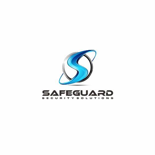 3D Letter S logo design