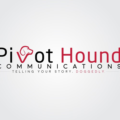 Logo concept for Pivot Hound Communications