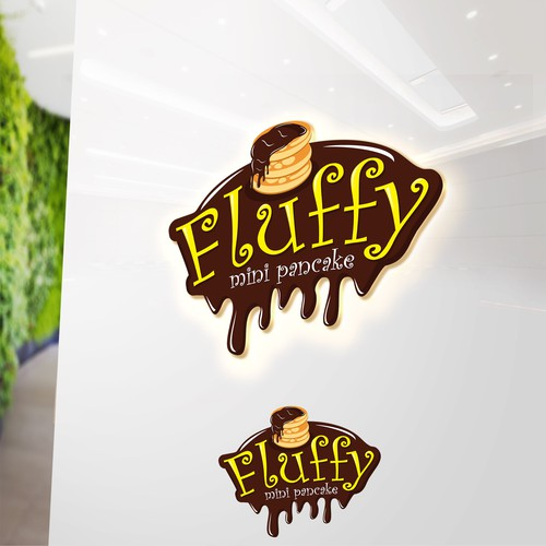Fluffy mini pancake