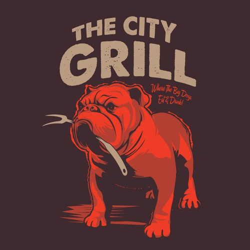 The City Grill Bulldog
