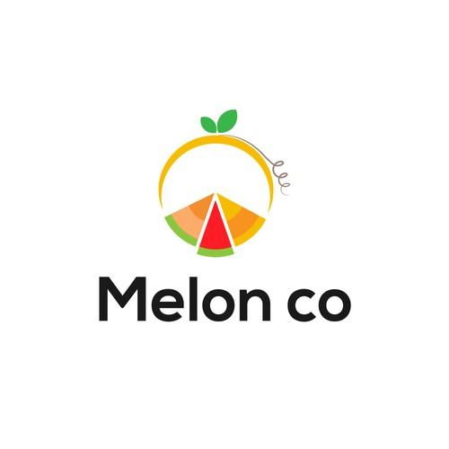 Logo for a Melon store.