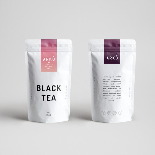 Packaging Design for Nepalese Tea Company